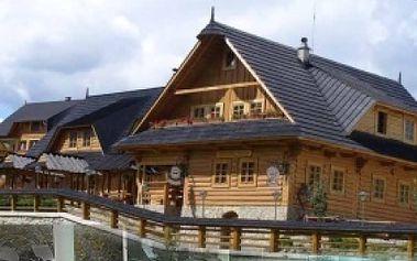 Zažite skvelý 4-DŇOVÝ wellness pobyt pre 2 osoby s raňajkami v KOLIBE JOSU v Zuberci!