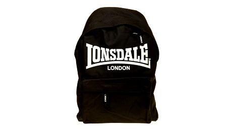 Pánský čierny batoh Lonsdale