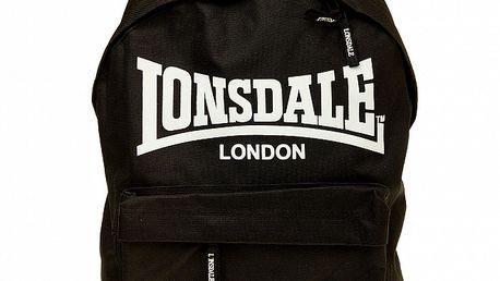 Pánský černý batoh Lonsdale