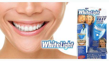 89 kč za oslňující bělostný úsměv?? S naší báječnou slevou 83% je to možné!! Revoluční přístroj white light za pouhých 95 kč!!