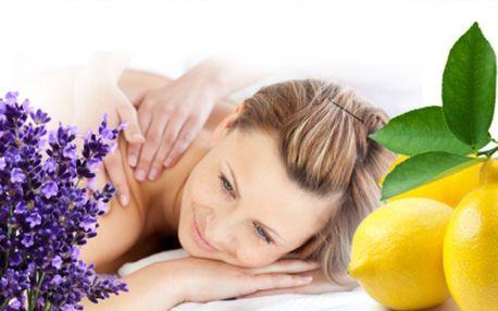 Relaxační MASÁŽ ZAD A ŠÍJE v délce 60minut za pouhých 249 Kč! Vyberte si z relaxační LEVANDULOVÉ nebo antistresové CITRUSOVÉ! Dopřejte si uklidňující masáž!