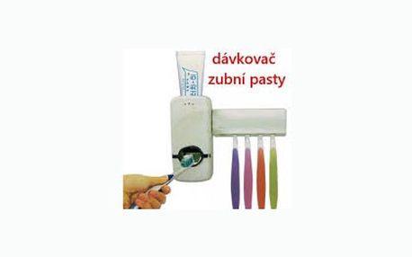 Praktický dávkovač zubní pasty s držákem pro 5 kusů kartáčků jen za 149 Kč. Pořiďte si tuto vychytávku do vaší koupelny se slevou 50 %.