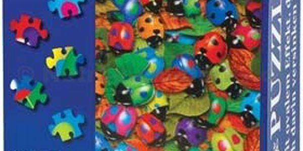 3D puzzle - berušky, motýlci. Nový pohled na skládání puzzle