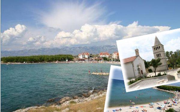 Týden v Chorvatsku s plnou penzí za 2390 Kč včetně dopravy!