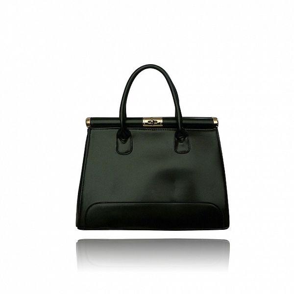 Dámská černá kabelka London Fashion