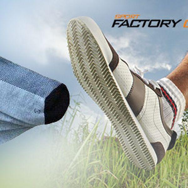 5 párů sportovních ponožek Levron
