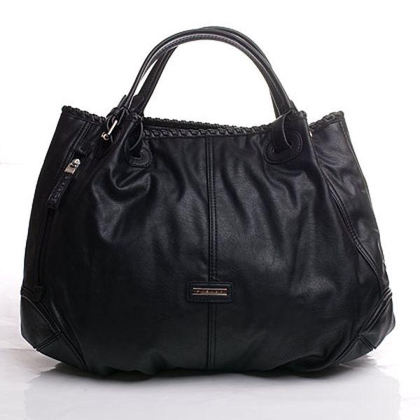 Černá Sisley kabelka s boční kapsou