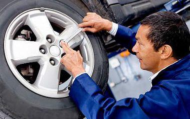 Výměna kol nebo přezutí pneumatik se slevou 56 %