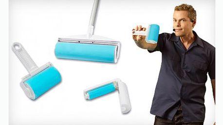 239 Kč za sadu tří omyvatelných lepících válečků Sticky Roller! Pomáhá odstranit zvířecí chlupy, stelivo pro kočky, drobky, nečistoty a další z různých povrchů. Skvělý pomocník do vaší domácnosti.