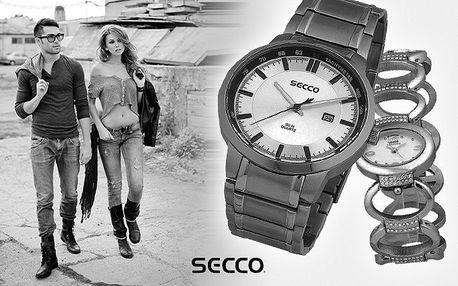 Hodinky SECCO pro pány, dámy i teenagery