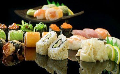 Sushi set se 48 kousky čerstvého sushi - více druhů