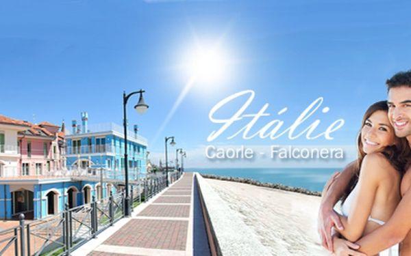 10 ti denní DOVOLENÁ v Itálii - Caorle v kempu Falconera 50 metrů od pláže již od 1 345 Kč! Ubytování v komfortním karavanu nebo ve stanu! Možnost autobusové nebo vlastní dopravy! Květnové, červnové a záříjové termíny!