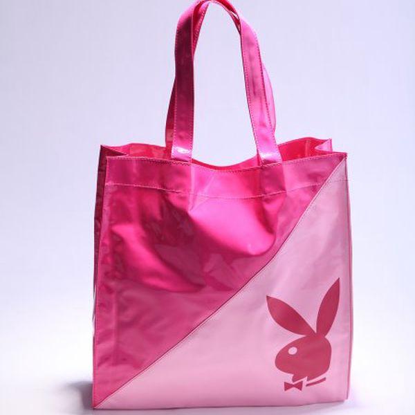 Módní dámská kabelka od značky Playboy do školy, do práce, na nákupy nebo na pláž.
