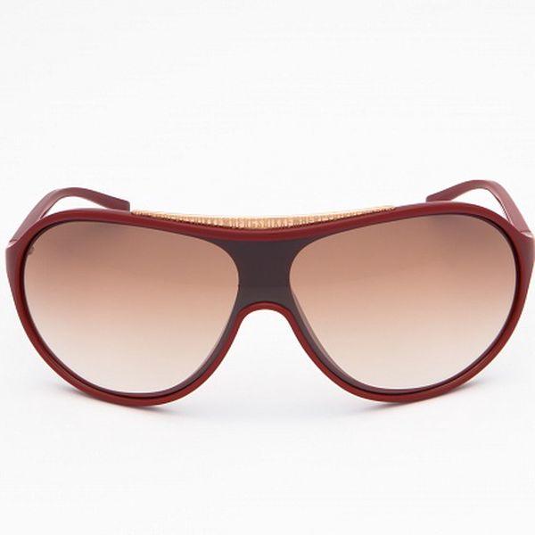 Pánské vínovo-červené sluneční brýle Bikkembergs