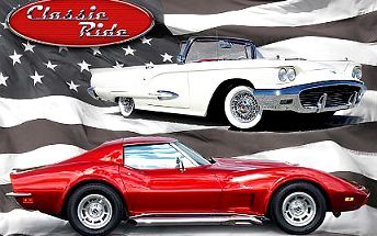 Jízda ve Ford Thunderbird či Chevrolet Corvette!