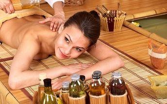 Thajská masáž nebo baňky