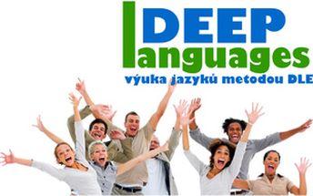 Pondělní večerní angličtina pro mírně pokročilé 3×120 min metodou DLE v Praze