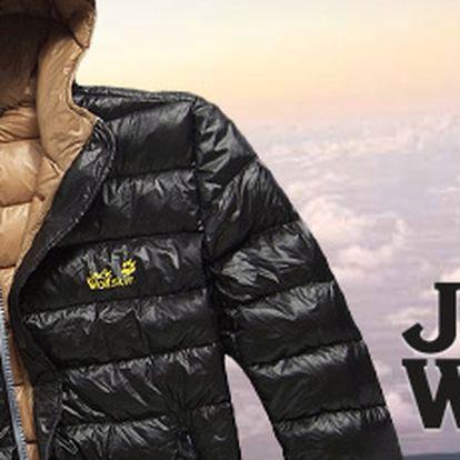 Péřová bunda Jack Wolfskin: lehká, teplá a maximálně skladná! Nyní s 50% slevou!