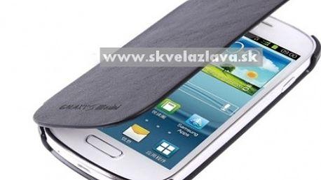 Štýlový ultratenký Flip Cover obal pre Samsung Galaxy S3 mini / i8190 v piatich farbách za 7,70 € vrátane poštovného!