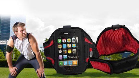 Športové PÚZDRO ARMBAND na ruku PRO iPhone a iPod za luxusných 8,46 EUR vrátane poštovného! Praktické puzdro je vhodné k behu, cyklistike i iným športom!