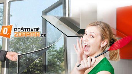 Praktická OCHRANNÁ SIEŤ PROTI HMYZU za jedinečných 3,80 EUR vrátane poštovného! Ochranná sieť do okien a dverí umožní vetranie, ale otravný hmyz nechá vonku! Zľava 40%!