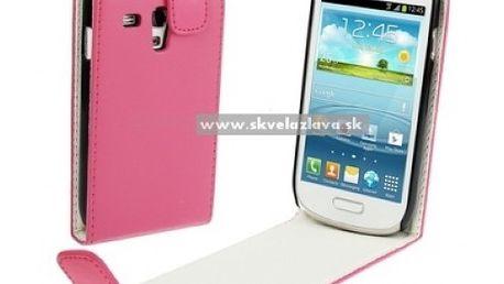 Štýlový výklopný obal pre Samsung Galaxy S3 mini / i8190 v piatich farbách za 4,90 € vrátane poštovného!