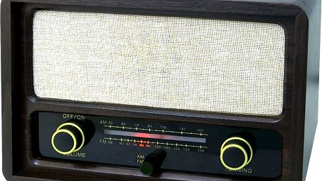 Roadstar HRA-1410 v retro stylu - II. jakost - FM/AM tuner