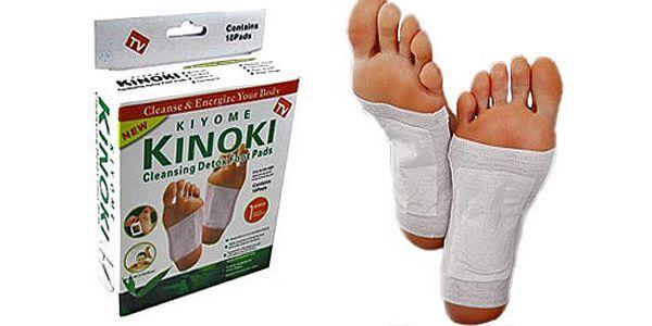 10 ks detoxikačních náplastína chodidla KINOKI. Poznejte východní medicínu a očistěte organismus hned teď za nejnižší cenu na trhu!