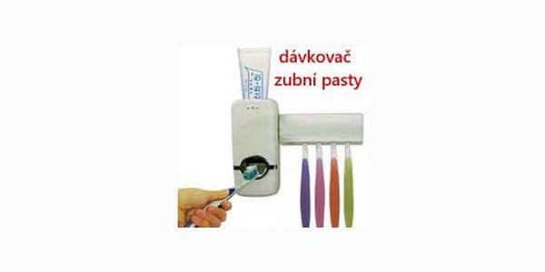 Praktický dávkovač zubní pasty s držákem pro 5 kusů kartáčků jen za 99 Kč. Pořiďte si tuto vychytávku do vaší koupelny se slevou 67 %.