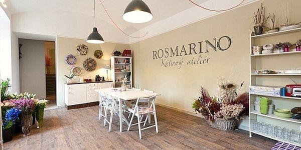 Základy aranžování květin v ateliéru ROSMARINO - vhodné jako dárek ke Dni matek!