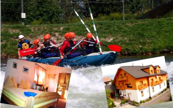 2 alebo 3 noci na Liptove a k tomu rafting od 61 €!