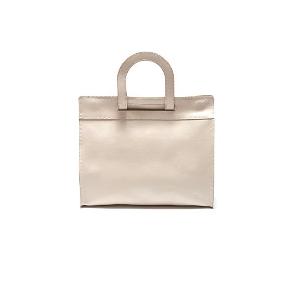 Dámska krémová kabelka Roberta Minelli