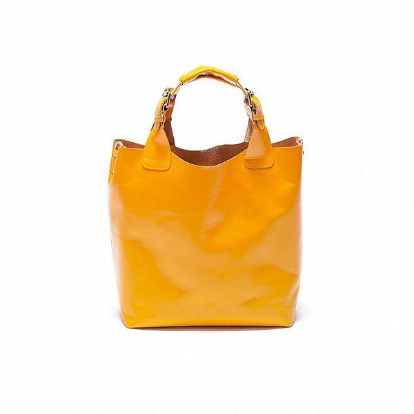Dámska žltá kabelka Roberta Minelli