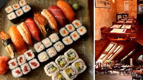 Velký set 32 kousků nejlepšího SUSHI + 4 taštičky jen za 350 Kč ve vyhlášené japonsko-korejské restauraci TOKYO, kupon za 49 Kč!!