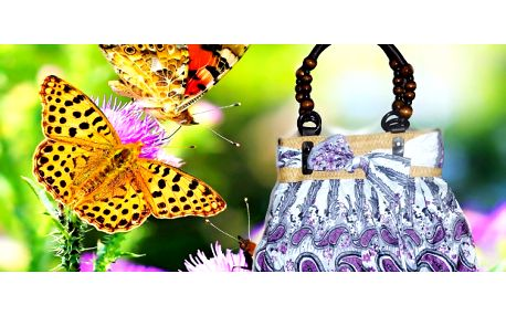 Trendy letná kabelka v deviatich vzoroch za 7,90 € vrátane poštovného!