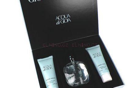 Dámská parfémovaná voda Giorgio Armani Acqua di Gioia Edp 50ml + 2x75ml tělové mléko