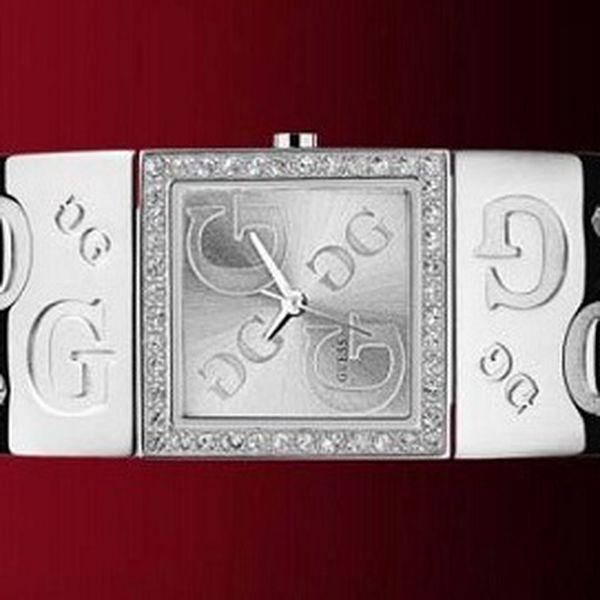 Strieborné hodinky GUESS za 85 €!