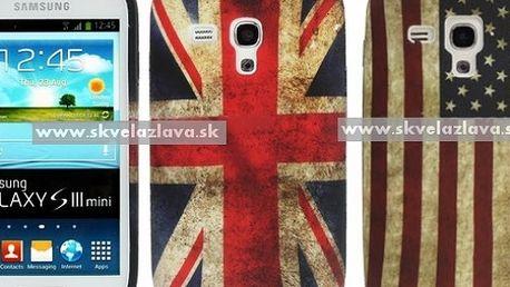 Retro obal z odolného a pružného TPU materiálu určený pre Samsung Galaxy S3 mini / i8190 za 4,10 € vrátane poštovného!