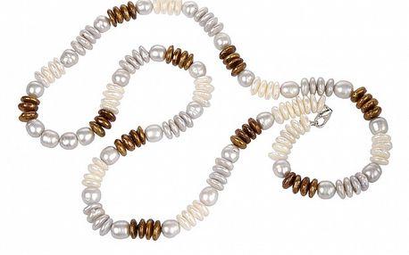 Dámsky perlový náhrdelník Arla