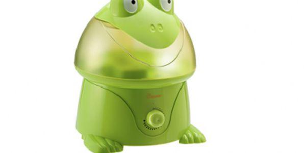 Zvlhčovač vzduchu ve tvaru žáby - udělejte svým dětem lepší podmínky pro dýchání!!