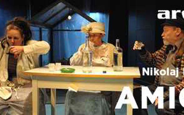 Vstupenka do divadla - inscenace AMIGO - 7.května 2013