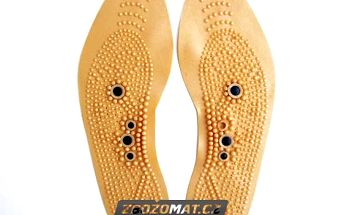 Akupresurní vložky do bot s magnety - úleva, uvolnění a relax při každém kroku!