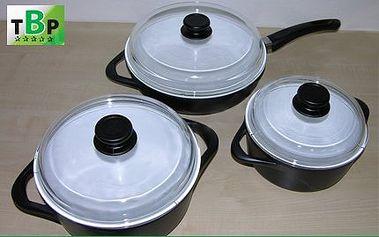 Sada nádobí pro zdravé vaření ve třech variantách