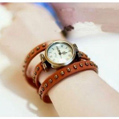 Dámské stylové retro hodinky ve 3 barvách s 50% slevou!