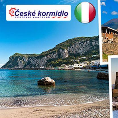 Osm dní v Itálii - Pompeje, Neapol a 4* hotel