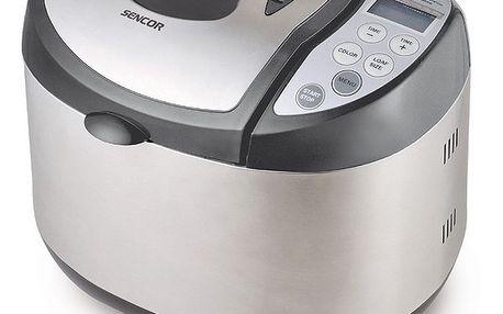 Pekárna chleba Sencor SBR 930SS. 11 přednastavených programů pro pečení