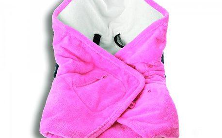 BabyBoum - Univerzální rychlozavinovačka Softy 5tibodová - růžová