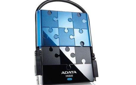 """Externí 2.5"""" pevný diskADATA HV610 500GB USB 3.0 2,5"""" externí černý"""