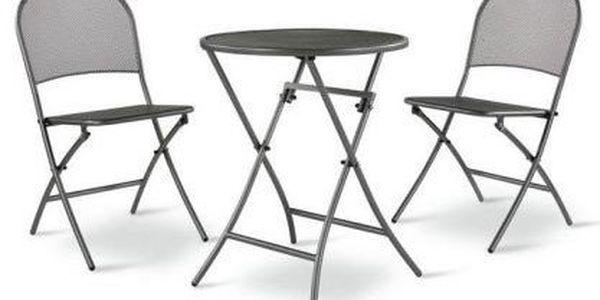 Café Latte set - Stůl a židle. Ideální pro každý balkón.