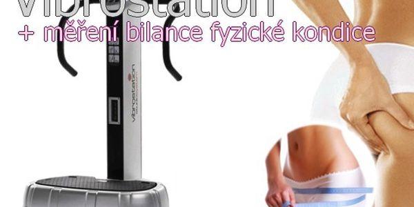 3 x Vibrostation+ Měření bilance fyzické kondice